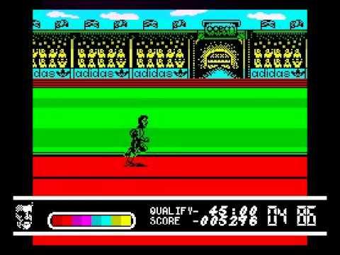 Daley Thompson's Olympic Challenge Walkthrough, ZX Spectrum