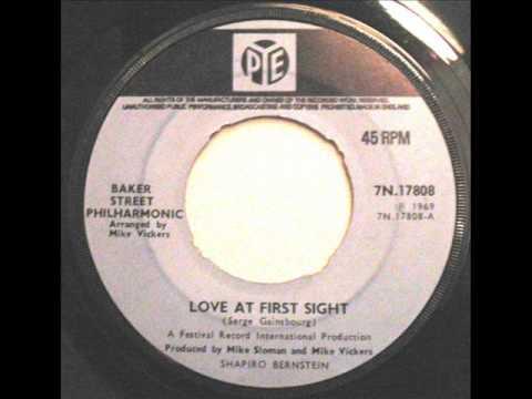 Love At First Sight  ~  Baker Street Philharmonic ~ Single 1969