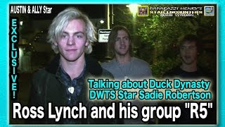 Ross Lynch & His Band R5 Chat about DWTS