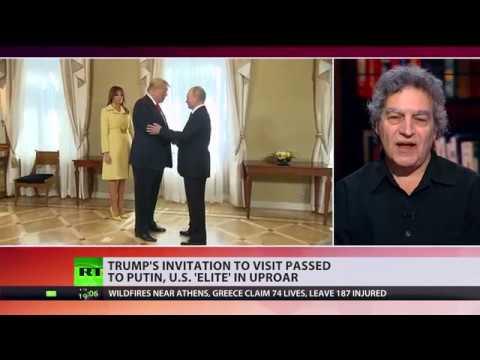 Putin-Trump summit two: Trump's invitation to visit passed to Putin, US 'elite' in uproar