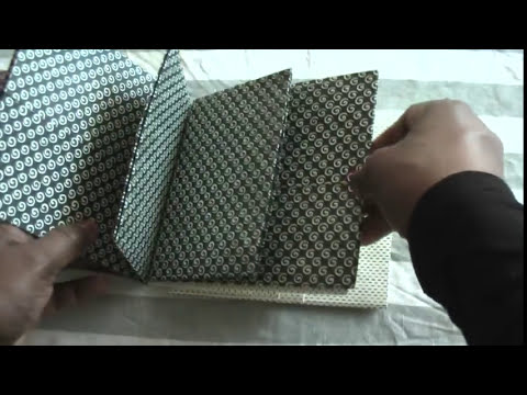 Scrapbooking: Vintage paperbag mini with tutorial