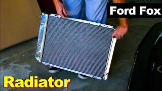 1987-1993 Ford Fox Mustang Radiator Replacement/Upgrade Instructions