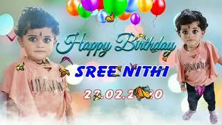 Birthday Wishes   Sree Nithi   Vendalicode   Kanyakumari District   Anandhu  