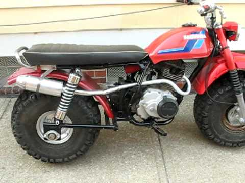 Honda atc200 3 to 2 wheeler Prototype. Fat Cat Big wheel dirt bike pit missile kit