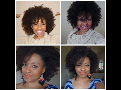 Cabelo Afro: Desfiando o cabelo