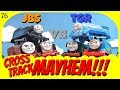 Cross Track Mayhem 76! Thomas & Friends Journey Beyond Sodor vs The Great Race!