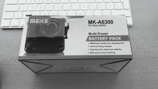 Sony a6300 Battery grip - MEIKE MK-A6300
