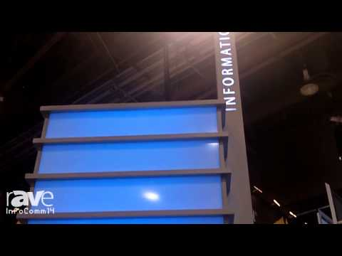 InfoComm 2014: Display Devices Shows its Custom Kiosk