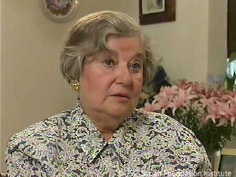 Holocaust Survivor Engelina Billauer Testimony