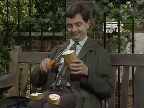Mr Bean - Sandwich making