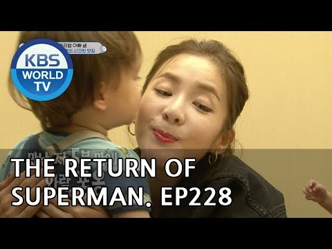 The Return of Superman 슈퍼맨이 돌아왔다-Ep.228:Looking at the World Through Your Eyes [ENG/IND/2018.06.10]