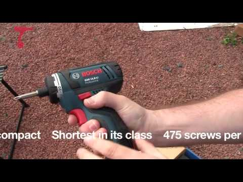 Bosch GSR 10.8 lithium-ion Cordless Drill Driver