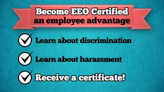 Equal Employment Opportunity Online Course & Certification