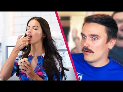 What You Think You Look Like Vs. Reality, feat. Adriana Lima