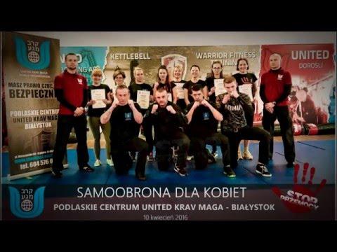 UNITED KRAV MAGA Białystok - Samoobrona Dla Kobiet 2016