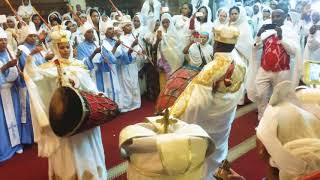 Ethiopian Orthodox Tewahido mezmur in wedding ceremony