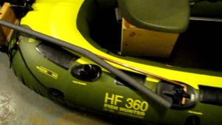 Sevylor HF 360 Fish Hunter Inflatable Boat Customization.