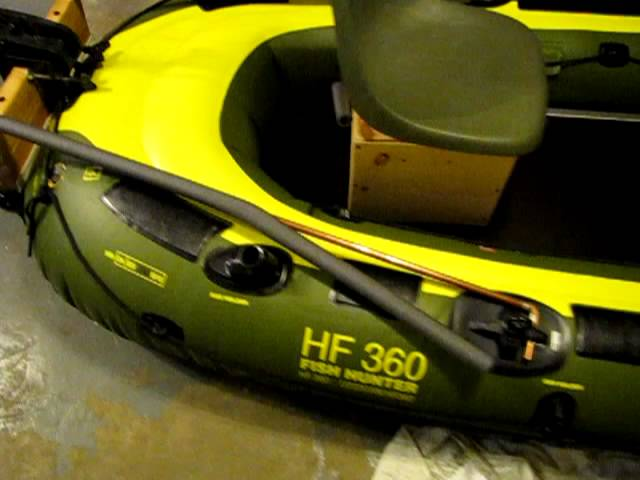 Sevylor HF 360 Fish Hunter Inflatable Boat Customization.