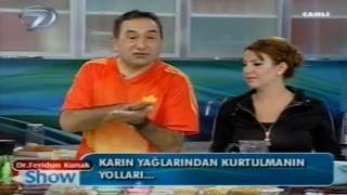 DR. FERİDUN KUNAK'TAN KARIN YAĞLARINI ERİTMENİN FORMÜLÜ