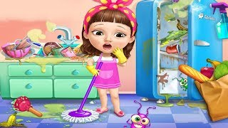 Fun Care Kids Game - Sweet Baby Girl Cleanup 5 - Messy House Makeover - Fun Cleaning Games For Girls