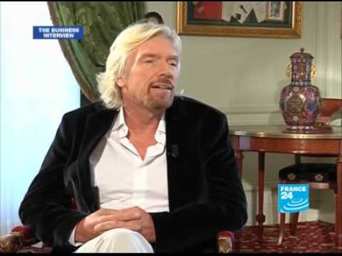 FRANCE 24 The Interview - Interview with Richard Branson Virgin Group founder