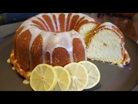 How to make a Lemon Pound Cake from scratch