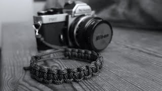 Making a Paracord Camera Strap For My Nikon FM2n Film Camera
