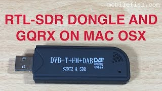 RTL-SDR Dongle and GQRX on Mac OS X