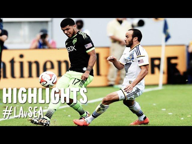 HIGHLIGHTS: Los Angeles Galaxy vs. Seattle Sounders | November 23, 2014