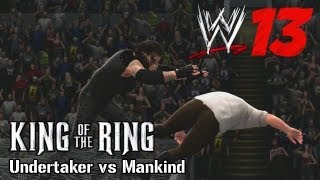 WWE 13 Undertaker vs Mankind Hell in a Cell King of the Ring 1998 TRUEHD QUALITY