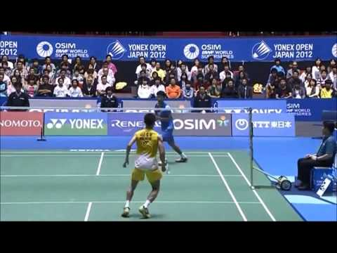 Badminton Men's Singles Trickshots video