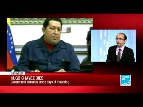 FRANCE 24 International Affairs Editor Armen Georgian discusses post-Chavez Venezuela