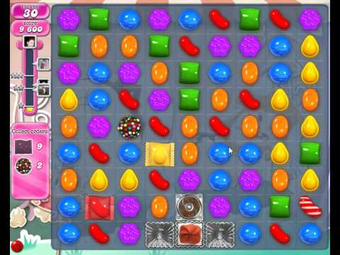 How To Beat Candy Crush Saga Level 347 - 3 Stars - No Boosters - 130