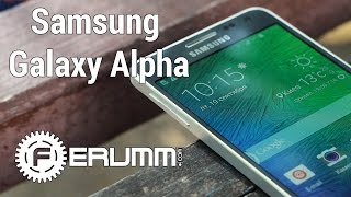 Samsung Galaxy Alpha обзор. Видеообзор смартфона флагмана Galaxy Alpha G850F от FERUMM.COM