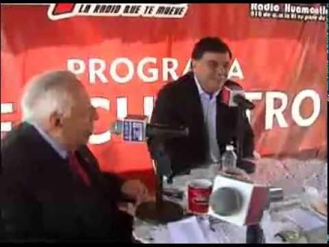 Destaca gobernador MGZ acciones por Tlaxcala, en programa Encuentro Radio Huamantla