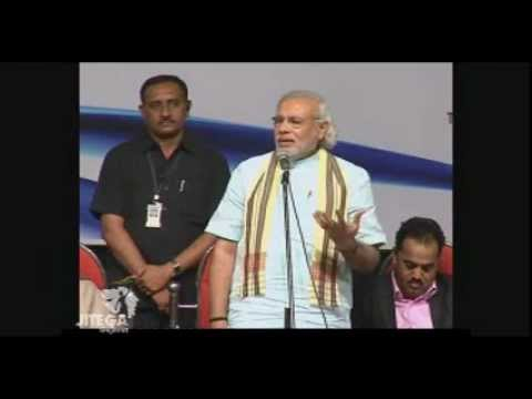 Narendra Modi presents One India Award to Nabam Atum