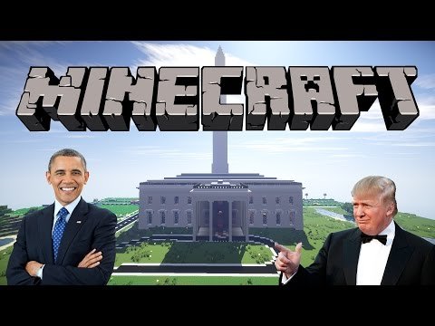 The White House   Minecraft Map Review   + Download Link