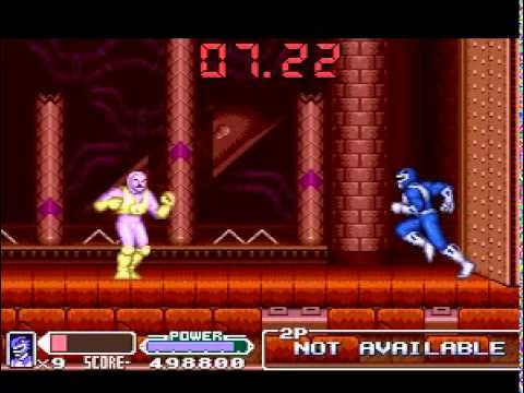 Snes - Mighty Morphin Power Ranger: The Movie - Fase 7 video