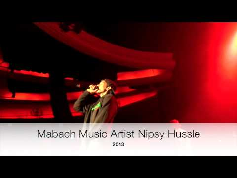 Maybach Music Artist Nipsey Hussle In Concert 2013