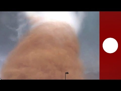 Scary: Incredible up-close footage of massive tornado in North Dakota