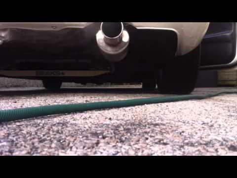 Spoon Exhaust Integra Spoon Exhaust on an Integra