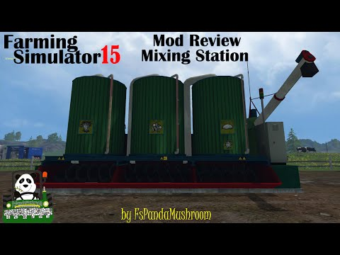 Farming Simulator 15 Mod Review Mixing Station(Marhu)
