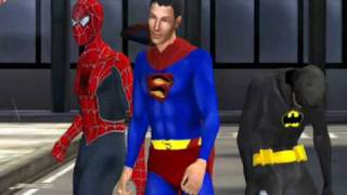 Batman Superman & Spider-Man The Movie (Trailer)