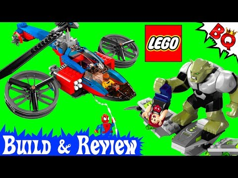 LEGO Spider-Man Spider Helicopter Rescue 76016 Marvel Super Heroes Build & Review