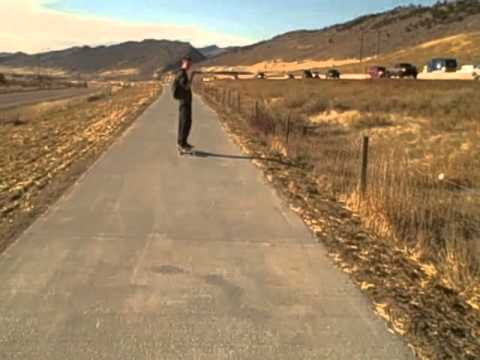 Colorado Longboarding (10 minute downhill)