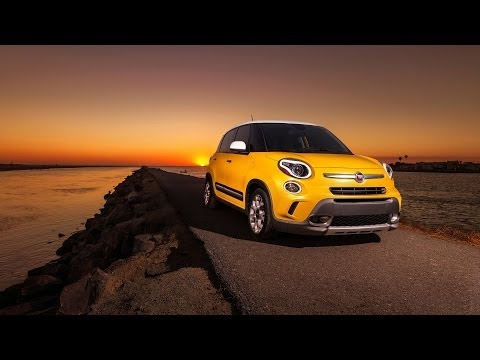 2014 Fiat 500L US-Version Review Outside & Inside
