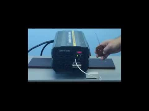 5000 Watt Power Inverter w/ 50 Amp Charger and Transfer Switch 12 Volt DC to 110 Volt AC (PIC-5000)