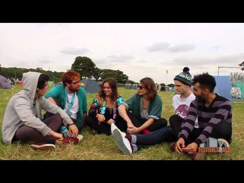 Interview with The Coopers at Brownstock Festival 2012