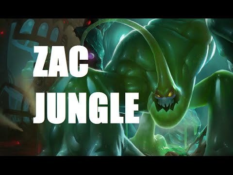 League of Legends Ranked - Zac Jungle - Full Game Commentary