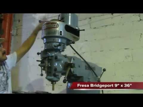Fresadora Bridgeport 9